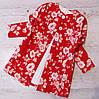 Р.128-152 Детское платье + кардиган цветочный принт