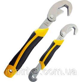 Набор универсальных трубных накидных ключей 9 - 32 мм // Сталь 41083