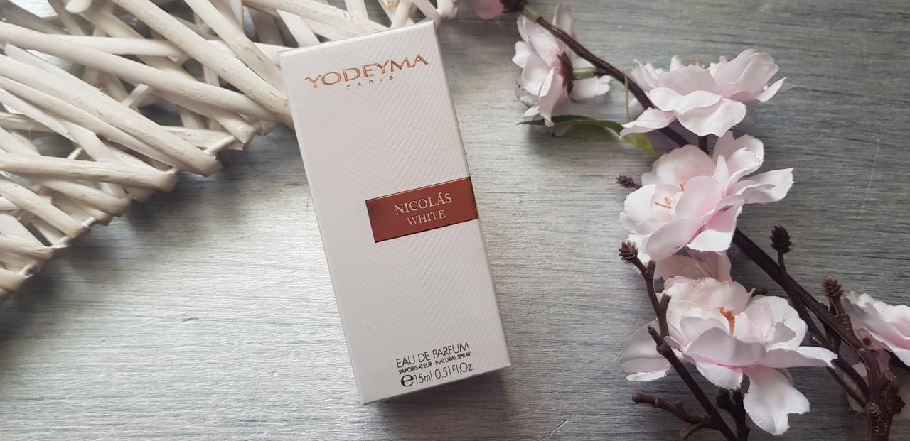 Женские духи Yodeyma nicolas white 15 ml