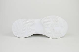 Кроссовки Selesta 716090 Бело-серые кожа-замш, фото 3