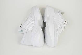 Кроссовки Selesta 716090 Бело-серые кожа-замш, фото 2