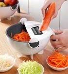 Мульти слайсер, овощерезка, терка-овощерезка basket vegetable cutter, фото 1