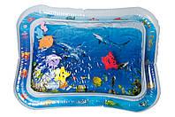 Детский водный надувной игровой коврик для малышей