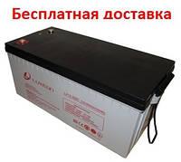 Аккумулятор Luxeon LX12-200C 200Ач Carbon GEL, фото 1