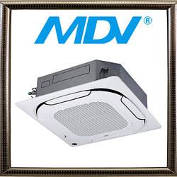 Кассетная мульти-сплит-система MDV MDQ4A-48HRAN1 (x2) большой мощности, DC Inverter