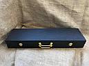 """Набір шампурів ручної роботи """"Кабан з ножем"""" в кейсі, фото 4"""