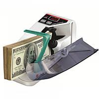 Счетная машинка для денег Handy Counter V30 детектор валют Белый