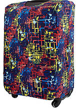 Чехол для чемодана Eterno M, разноцветный