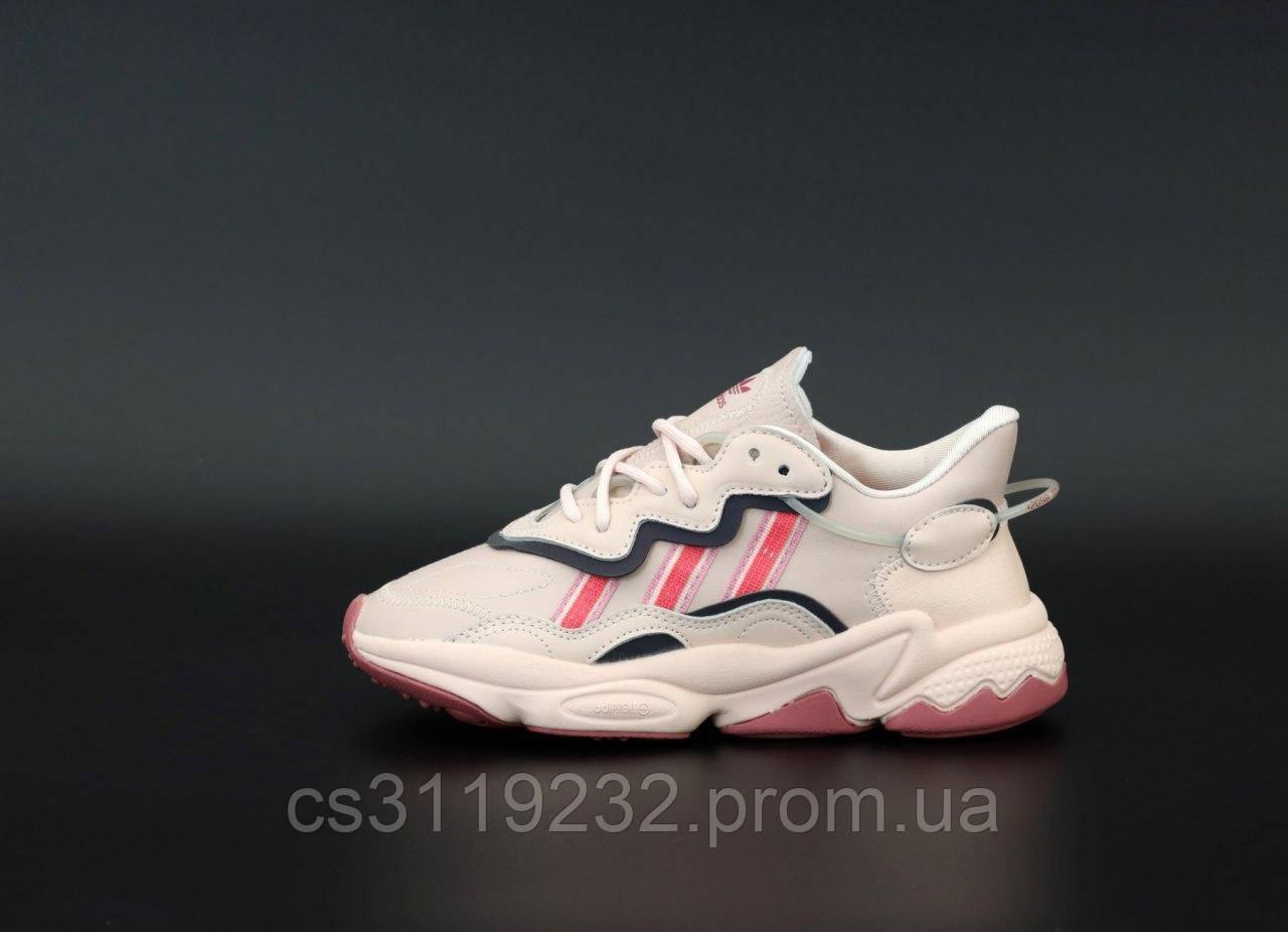 Жіночі кросівки Adidas Ozweego Pink (рожеві)