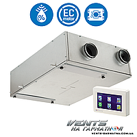 Вентс ВУТ 160 ПБ ЕС А11 (П/Л). Приточно-вытяжна установка с рекуператором.