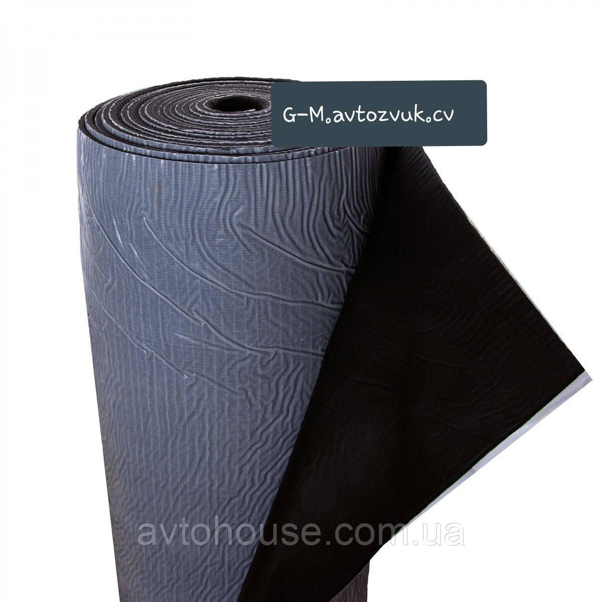 Шумоизоляция из вспененного каучука с липким слоем 6мм