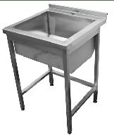 Ванна моечная 1-но секционная сварная  600х600х850мм (1745)