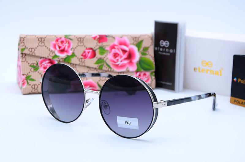 Женские солнцезащитные круглые очки Eternal 3300 с5-Р85-9