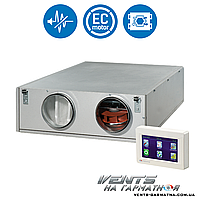 Вентс ВУТ 350 ПЭ ЕС (П/Л). Приточно-вытяжна установка с рекуператором.