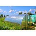 "Теплица""Вишневый сад"" 3,5х4х2м (Турция), труба 40х20 - оцинковка + поликарбонат 4мм, фото 3"