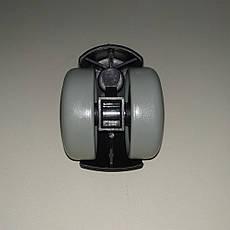 Колеса обрезиненные для офисного кресла 1150PU (мягкие), фото 3