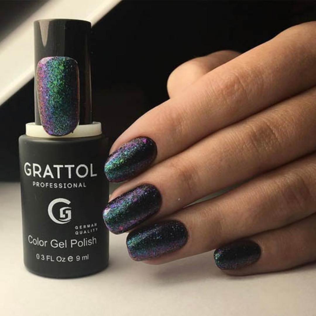Гель-лак Grattol galaxy 001