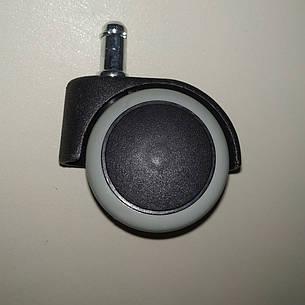 Колеса обрезиненные для офисного кресла 1150PU (мягкие), фото 2