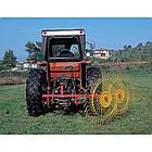 Колісно–пальцеві граблі–ворушилки, валкувачі RP (Італія) (ширина захвату до 10 м), фото 4