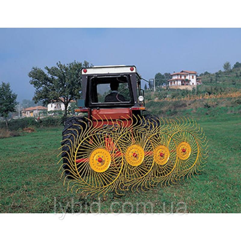 Колісно–пальцеві граблі–ворушилки, валкувачі RP (Італія) (ширина захвату до 10 м)