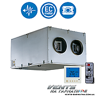 Вентс ВУТ 2000 ПЭ ЕС А7. Приточно-вытяжна установка с рекуператором.