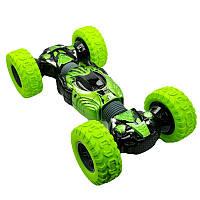 Радиоуправляемая машина HYPER Twister Climbr Legends  Champions вездеход джип перевертыш, 40 см, зеленая