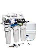 Шестиступінчаста Система зворотного осмосу Aquafilter RP-RO6-75 з насосом