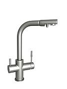 Смеситель четырехпозиционный Aquafilter FXFCH13-4-M_K матовый