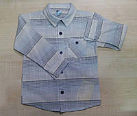 Рубашка хлопковая для мальчика
