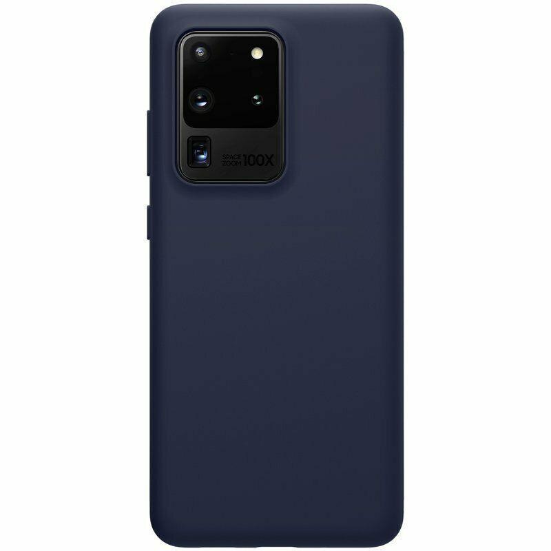 Nillkin Samsung Galaxy S20 Ultra Flex Pure Case Blue Силиконовый Чехол