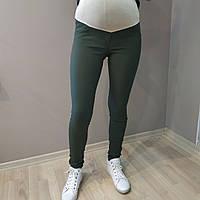 Бенгалиновые брюки хаки для беременных 2304-2