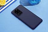 Nillkin Samsung Galaxy S20 Ultra Flex Pure Case Blue Силиконовый Чехол, фото 4