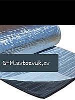 Тепло-шумоизоляция из вспененного каучука с фольгой 6 мм, фото 1