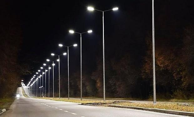 консольные светильники на столбы