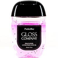 Антисептик для рук GLOSS Pink Flower(цветочный запах) 29 мл 62% спирта, фото 1