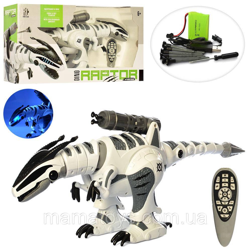 Динозавр M 5474 (K9) на Радиоуправлении, сенсорный 64 см, звук, свет, ходит, аккумулятор, подвижн детали