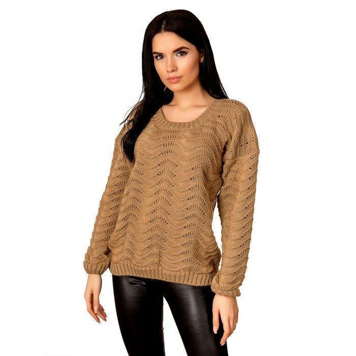 Ажурний светр 44-48 розмір весна 2021
