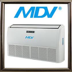 Сплит-система напольно-потолочного типа MDV MDUE-24HRN1, серия MDUE