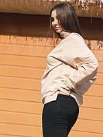 Женский свитшот Palm Angels 20956 светло-розовый