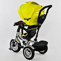 Детский трехколесный велосипед BEST TRIKE 5890 7019 (пуль, фара, музыкальная панель, поворотное сидение), фото 3