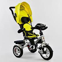 Детский трехколесный велосипед BEST TRIKE 5890 7019 (пуль, фара, музыкальная панель, поворотное сидение), фото 2