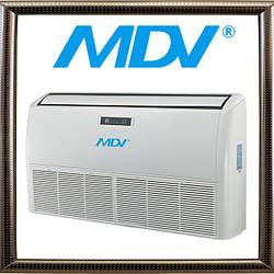 Сплит-система напольно-потолочного типа MDV MDUE-36HRN1, серия MDUE