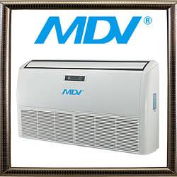 Сплит-система напольно-потолочного типа MDV MDUE-48HRN1, серия MDUE