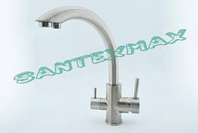 Смеситель для кухни и фильтра Falanco 8203 из нержавеющей стали