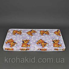 Детский матрас в кроватку кокос-поролон (КП) - 5 см / детский матрасик в манеж, фото 2