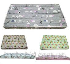 Детский матрас в кроватку кокос-поролон (КП) - 5 см / детский матрасик в манеж, фото 3