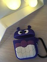 Чехол для наушников  DK Silicone Cartoon Series  для Apple AirPods, фото 2