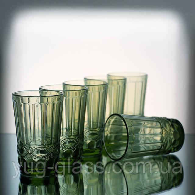 Высокие стаканы для воды и сока