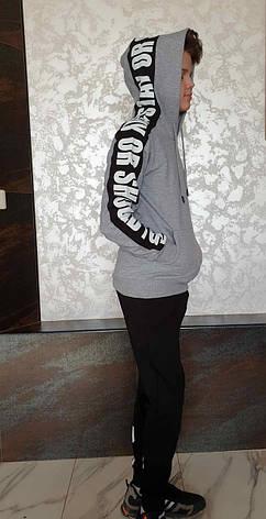 Модная кофта с капюшоном на мальчиков 152,158,164,170,176 роста Enkore, фото 2