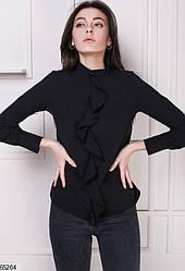 Блузка женская черная 65264